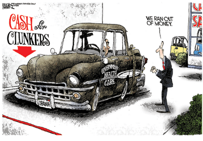 Cash For Clunkers >> Cash For Clunkers Another Government Boondoggle Cristy Li