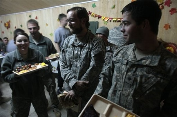 Afghanistan Thanksgiving