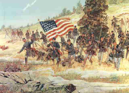 an analysis of the loss of the northern advantage in the american civil war Historical analysis and the american civil war ―one reason for the civil war's terrible loss of life was that officers' strategy had not caught.