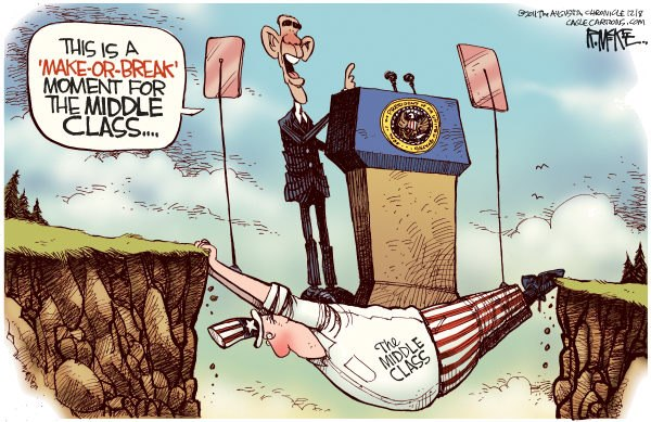 Obama Fiscal Cliff --Barricuda Brigade Girl