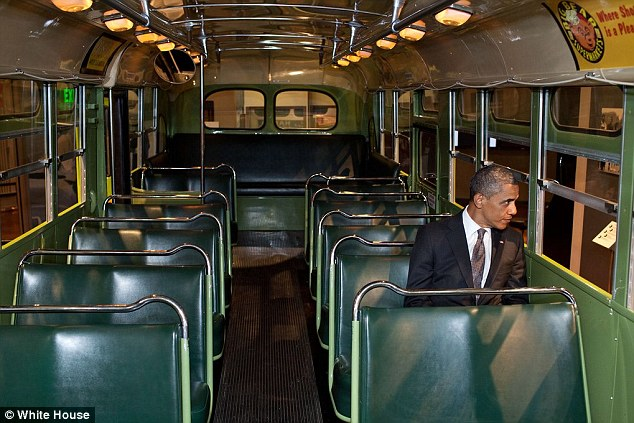 Obama Honors Rosa Parks With Picture Of Himself