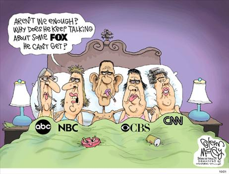 Dinosaur Media In Bed With Obama