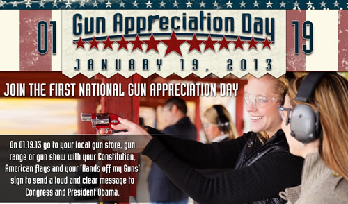 Gun Appreciation Day --Moonbattery