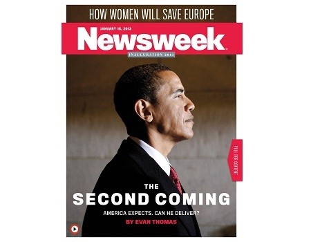 Newsweek Messiah Obama