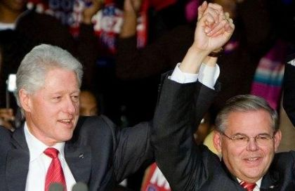 Bill Clinton--Robert Menendez Birds of a Feather