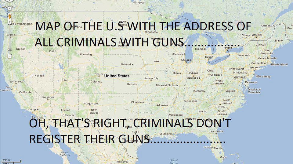 Criminals & Firearms --The Conservative Newsfeed