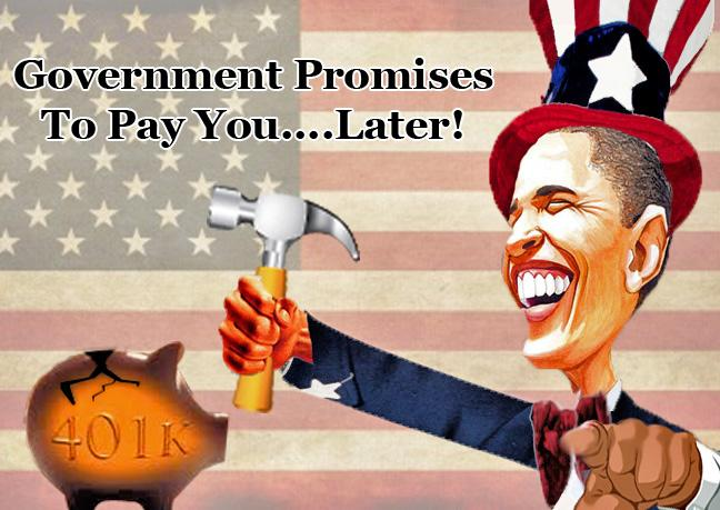 Govt Confiscates Wealth Promises To Pay You Later --Soda Head