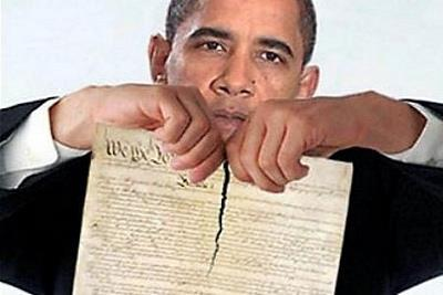 Obama Shredding Constitution --The Veritas Report