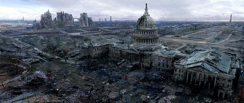 Post Apocalypse US Capitol