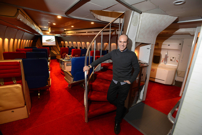 Redondo Beach Resident Inside Replica Pan Am 747