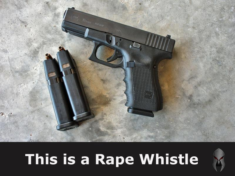 This is my Rape Whistle --1,000,000 Patriots....