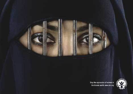 Muslim Women Imprisoned