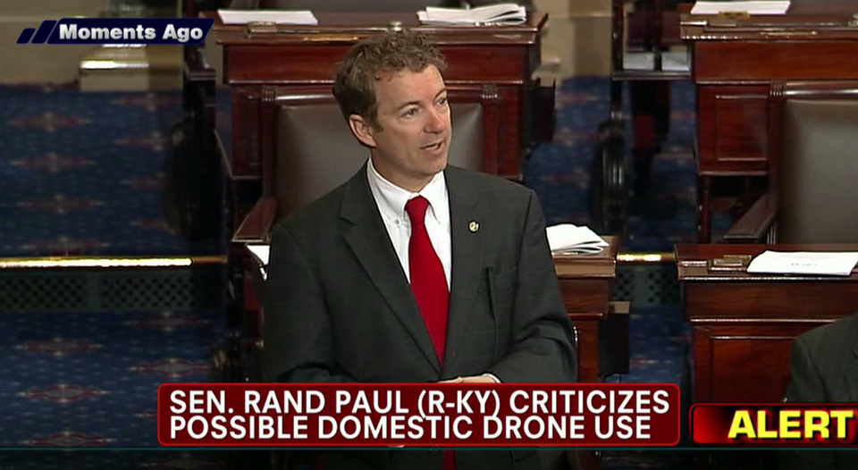 Sen Rand Paul Filibuster on Senate Floor Wednesday --FOX News