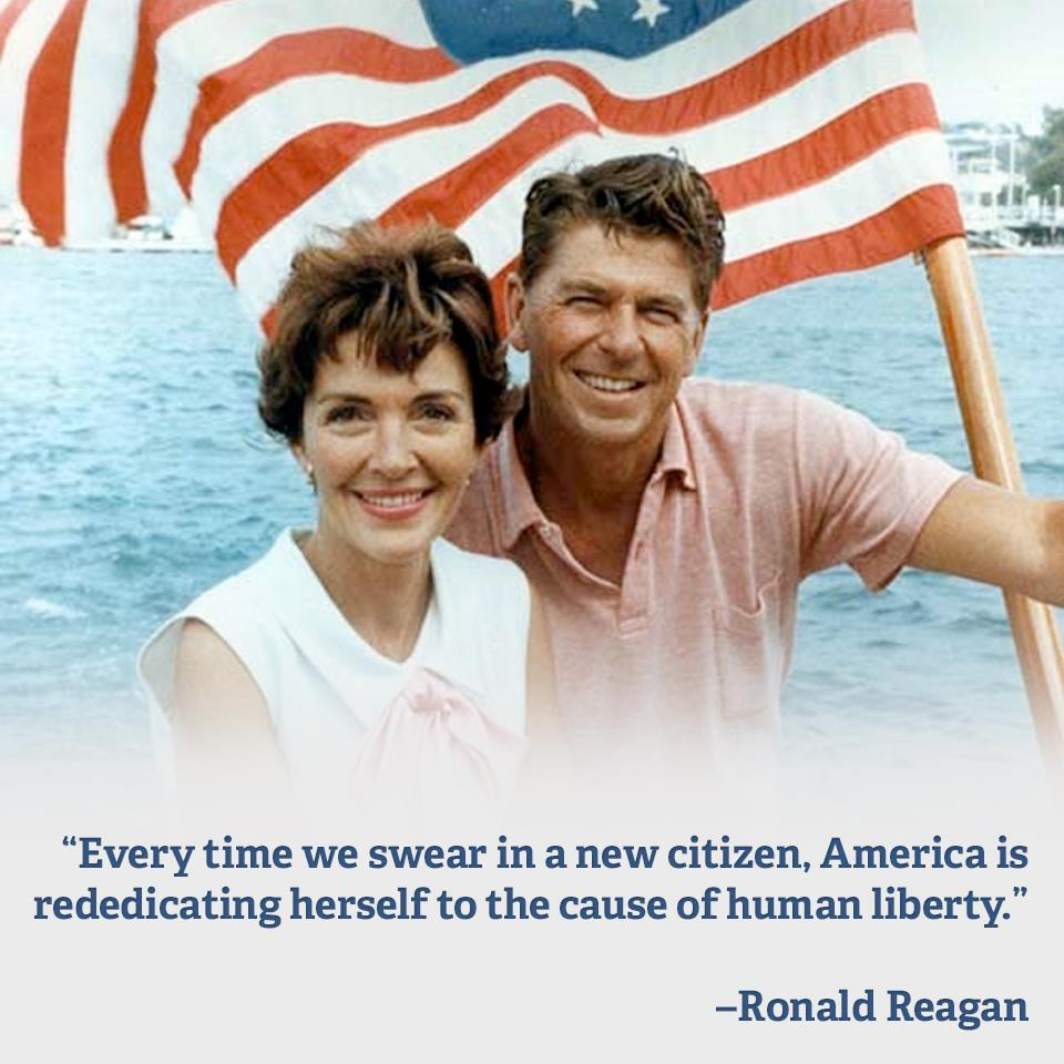 Ronald Reagan --American Free Enterprise