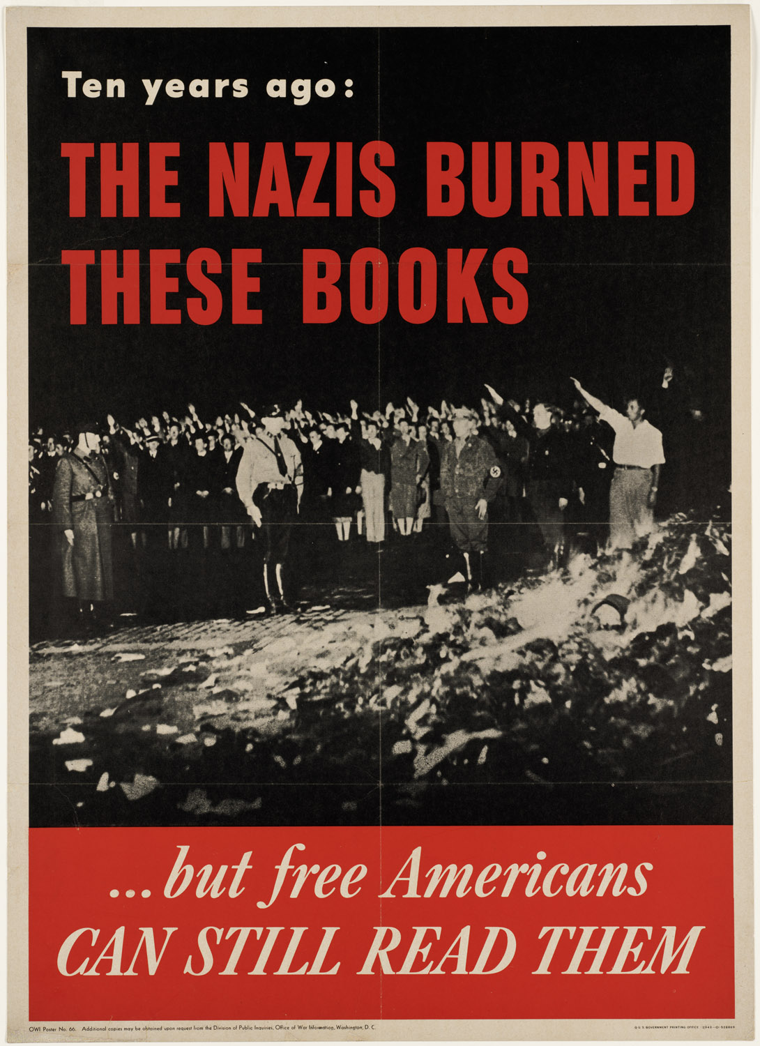 Fascist Book Burnings