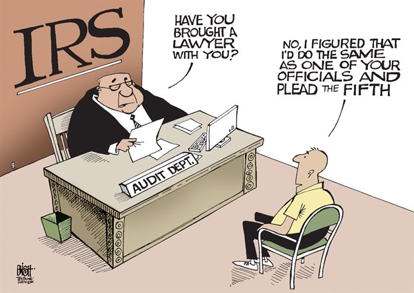 IRS Official Asserts 5th Amendment