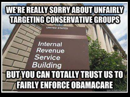 IRS to Enforce ObamaCare --Chicks On The Right