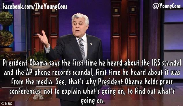 Jay Leno --The Young Cons