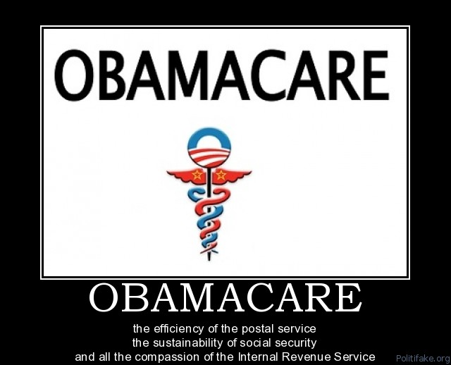 ObamaCare All the Compassion of the IRS