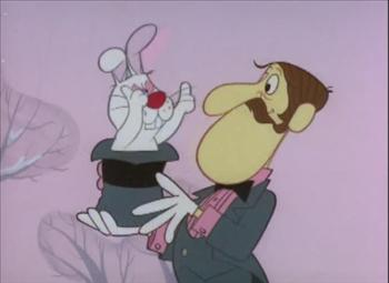 Hocus Pocus The Rabbit In Frosty The Snowman