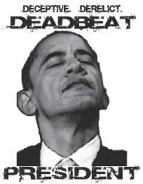 Team Obama Deadbeats --Soda Head