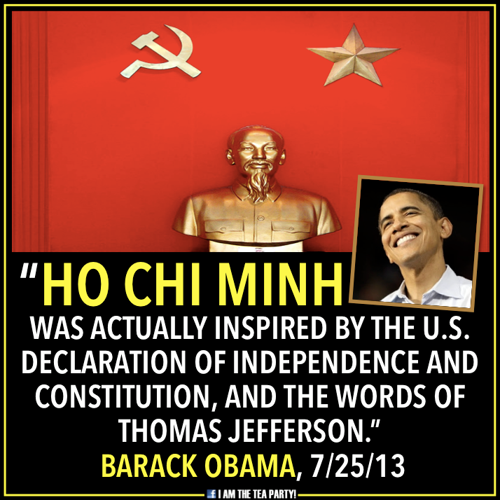 Ho Chi Minh Obama --I Am The Tea Party