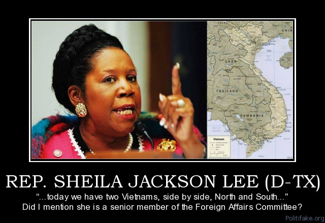 Shelia Jackson Lee on Vietnam