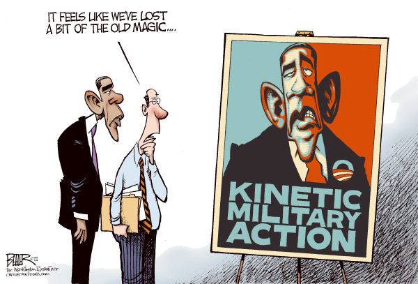 Obama Kinetic Military Action