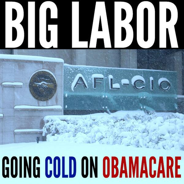 AFL-CIO Growing Cold On ObamaCare