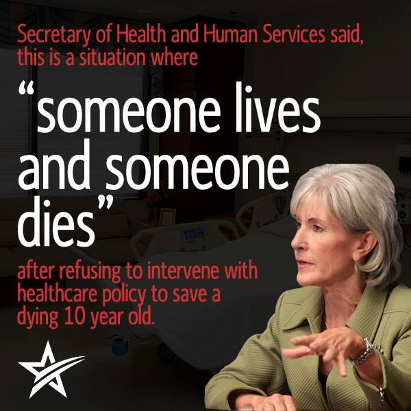 Someone Lives Someone Dies Welcome to ObamaCare