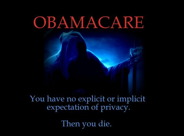 ObamaCare Privacy Violations