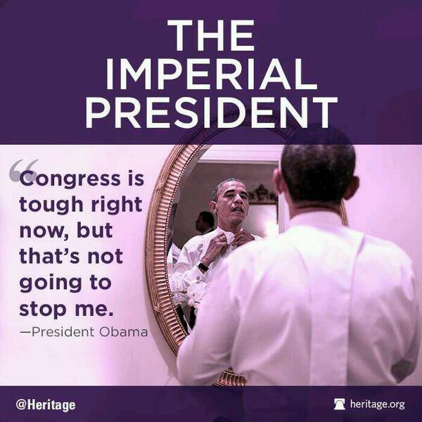 The Imperial President