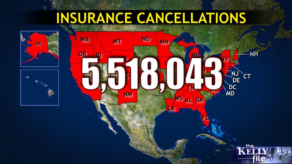 5.5 Million Ins Cancellations