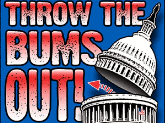 Throw The Bums Out 2014