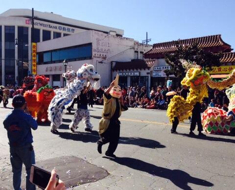 LA Golden Dragon Parade