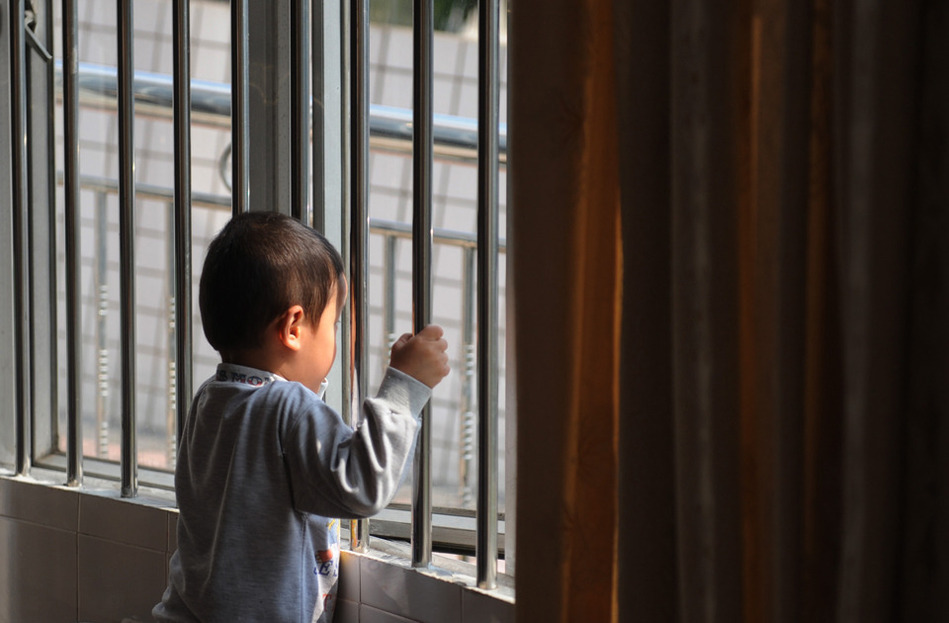 China Boy Imprisoned