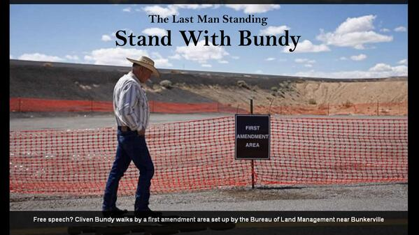 Bundy Ranch Free Speech Area