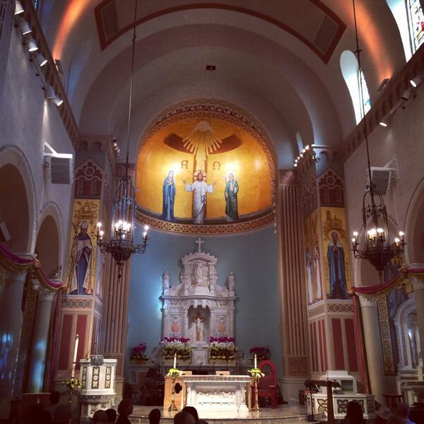 Easter Mass St Monica's