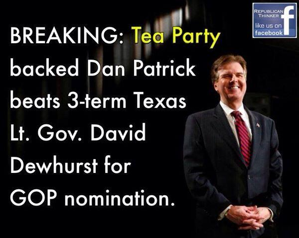 Dan Patrick Tea Party