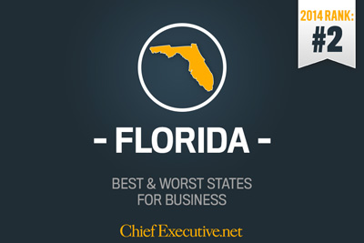 Florida Second Best State for Business