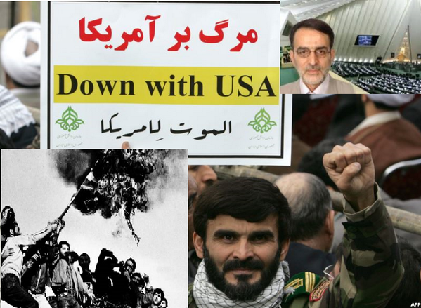 Iran Down With USA