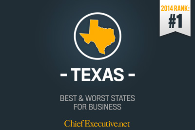 Texas Best State for Business