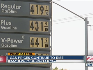 Gas Prices Bakersfield
