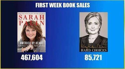 Hillary Book First Week Sales