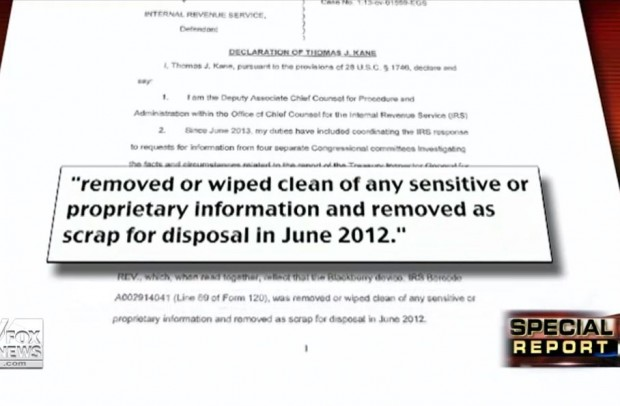 Lois Lerner Destruction of Evidence