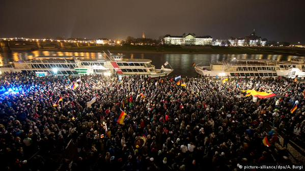 Anti-Islam Rally Germany