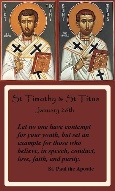 Today Christians Celebrate The Feast Of Saint Timothy