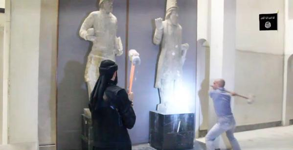ISIS Destroying Artifacts