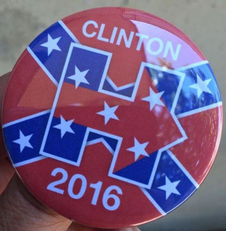 Hillary Clinton Campaign Button