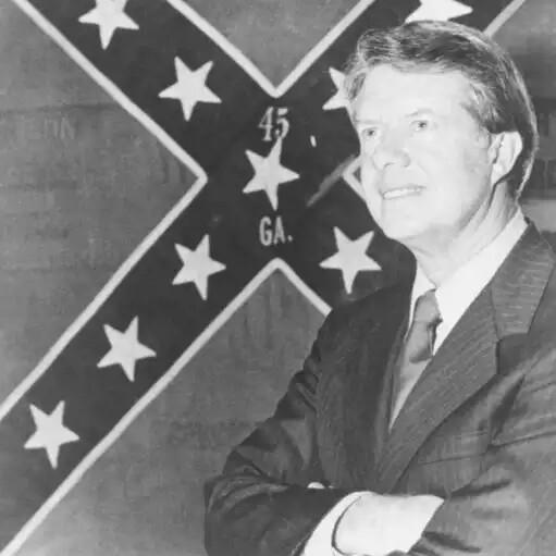 Jimmy Carter Confederate Flag